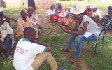 Oxfam Partner in Adamawa State using our ODK tool for survey