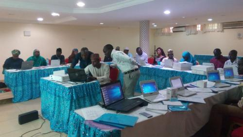 iDART (pharmacy dispensing tool for Antiretroviral) implementation training